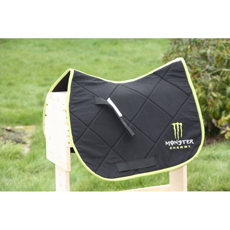 Tapis De Selle Monster Energy Nathali Embroidery