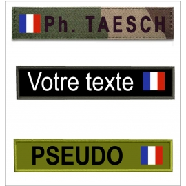 Bande patro avec drapeau France