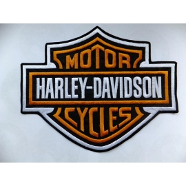 www.nathali-embroidery.fr-logo Harley Davidson-Personnalisation-Fabrication-Française