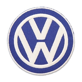 www.nathali-embroidery.fr--ecusson-patch-brodé-volkswagen-blue-logo-embroidery--Personnalisation-Fabrication-Française