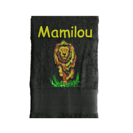 Serviette Eponge  Lion
