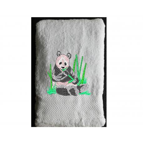 Serviette Eponge Panda