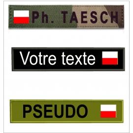 Bande patro avec  drapeau Alsace