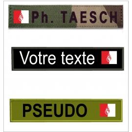 Bande patro avec  drapeau Vendéen