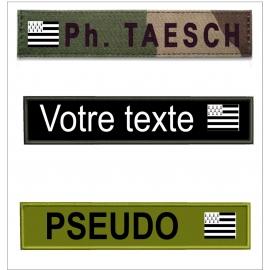 Bande patro avec  drapeau Breton