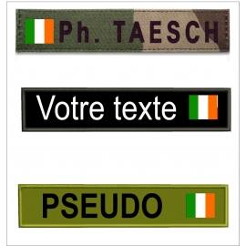 Bande patro avec drapeau Irlandais