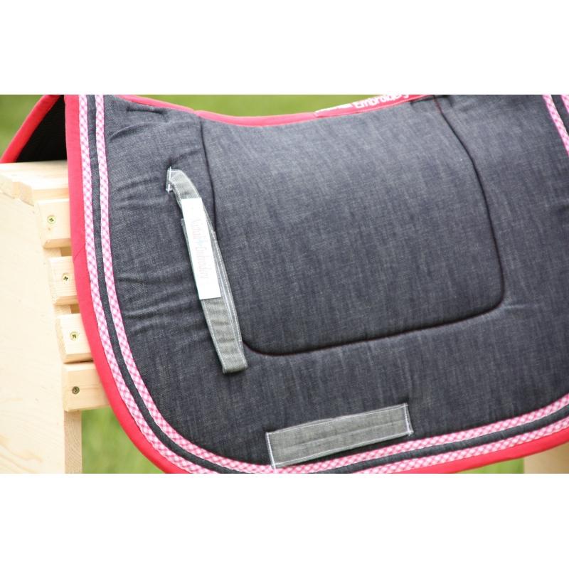 Tapis De Selle Jean 39 S Liseraie Fuschia Nathali Embroidery