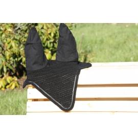 Bonnet noir mi long liseraire cuir noir