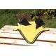 nathali-embroidery-personnalisation-broderie-sublimation-Bonnet jaune cordelière noire-fabrication-française