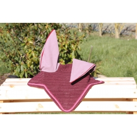 Bonnet Violet finition fuchia