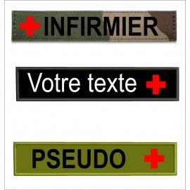 www.nathali-embroidery.fr-base bande patro avec drapeau-croix-rouge-Personnalisation-Fabrication-Française