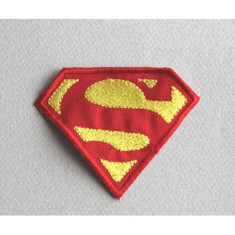 Favori Ecusson logo superman brodé à coller sur vos vêtements ! Soyez  JC44