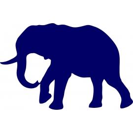 Sticker Eléphant 1 Plusieurs tailles au choix
