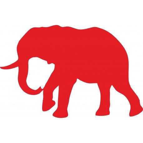www.nathali-embroidery.fr-éléphant -1-rouge-personnalisation-fabrication-française