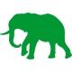 www.nathali-embroidery.fr-éléphant -1-vert-foncé-personnalisation-fabrication-française