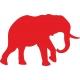 www.nathali-embroidery.fr-éléphant -1-rouge-inversé-personnalisation-fabrication-française