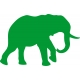 www.nathali-embroidery.fr-éléphant -1-vert-foncé-inversé-personnalisation-fabrication-française