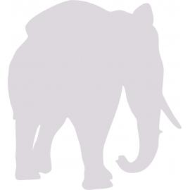 Sticker Eléphant 6 Plusieurs tailles au choix