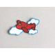 Ecusson Avion thermocollant