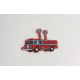 Ecusson Camion pompier thermocollant