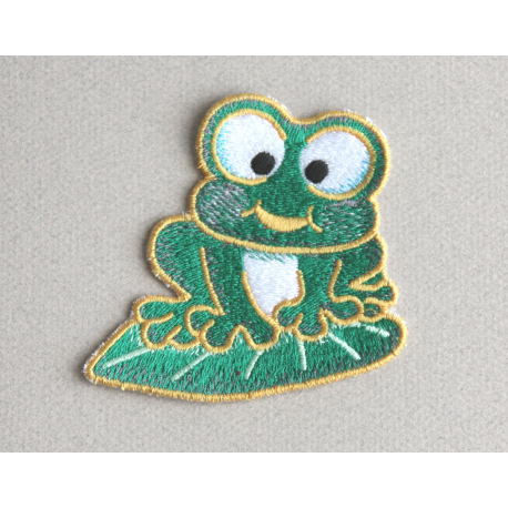 Ecusson Grenouille  thermocollant