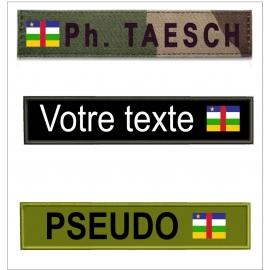 www.nathali-embroidery.fr-bande-patronymique-drapeau-centre-afrique-Personnalisation-Fabrication-Française