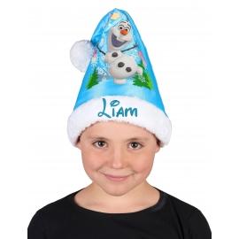 Bonnet Noël Olaf personnalisé