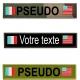 Bande patro avec 2 drapeaux USA/FRANCE