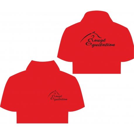 Polo Rougé Equitation