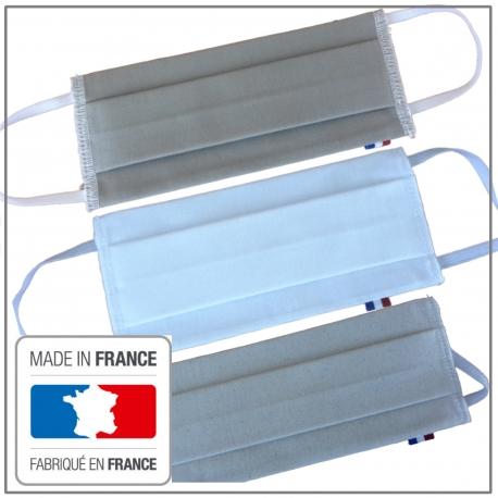 Masque barrière AFNOR réutilisable tarif dégressif sur quantité