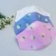 Masque facial brodé Motif Marguerite en tissu lavable réutilisable Fabriqué en france
