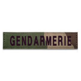 Bande patronymique Gendarmerie