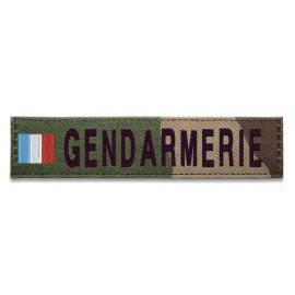 Bande patronymique Gendarmerie drapeau français