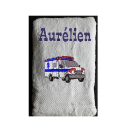 Serviette Eponge Ambulance